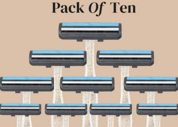 Easy Disposable Razor [ Pack of 10 ] At Rs. 7 Each + Free Shipping