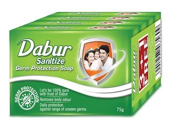 Dabur Sanitize Germ Protection Soap - 75g (Buy 3 Get 1 Free)