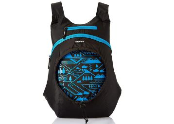 Gear Carryon Backpack Black- Blue