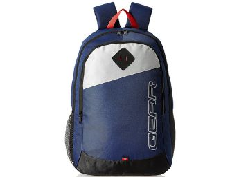 Gear 14 cms Blue Casual Backpack