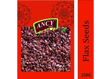 Ancy Foods Premium Dry Fruits (Flax Seeds/Alsi 250g)(Pack of 1x250g)