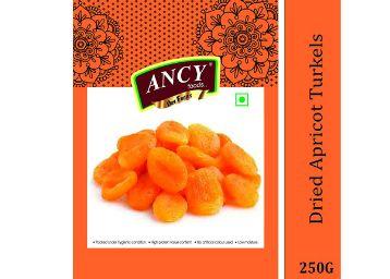 Ancy Premium Jumbo Dried Apricot (Turkish Apricot), 250 Grams
