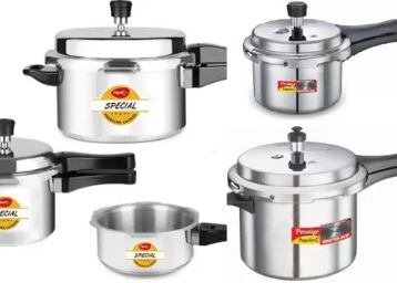 Top Brands Pressure Cookers, With Bank Off + Extra FKM Rewards