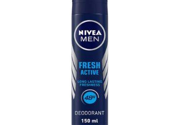 NIVEA Men Deodorant, Fresh Active, 48h Long lasting Freshness