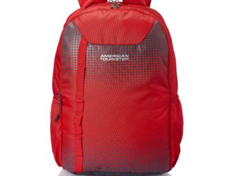 American Tourister Dazz 33 Ltrs Red Casual Backpack