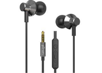 pTron Pride Lite HBE (High Bass Earphones) in-Ear Wired Headphones