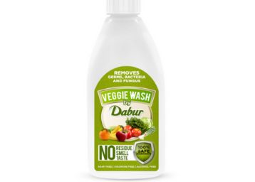 Dabur Veggie wash | Fruits and Vegetables washing Liquid | Removes Germs , Bacteria and Fungus