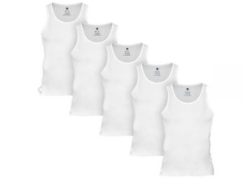 Stay Comfortable: Ace Cotton Modal Vest [ Pack Of 5 ] At Rs. 85 Each + Free Shipping