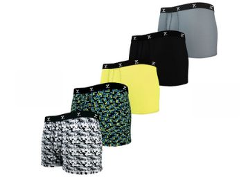 Combo Offer: SHUFFLE Tencel Trunk [ Pack Of 5 ] At Rs. 101 Each + Free Shipping
