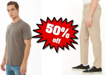 Forever21 Fashion Blast : Flat 50% Off On Men