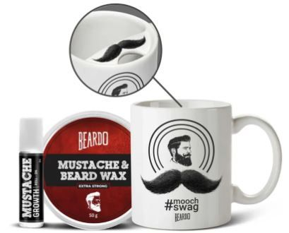 Beardo Mooch Swag Combo At Rs. 499