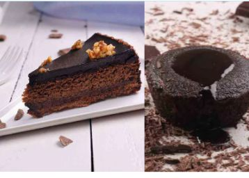 Choco Delight : Truffle Pastry + Choco Lava Cake At Just Rs.38 Each + Free Delivery !!