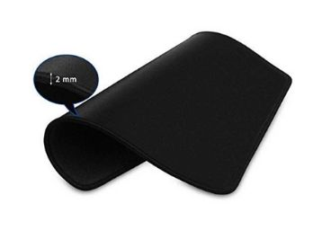 Moksh™ Waterproof Coating Gaming Mouse Pad/Smooth Surface and Stitched Edges (Pack of 1)