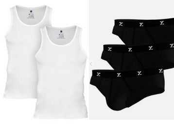 Save Rs.600 On Ace Vests (Pack Of 2) + Ace Briefs ( Pack Of 3) With Extra FKM Cashback !!