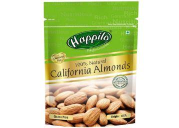 Happilo 100% Natural Premium Californian Almonds, 200g