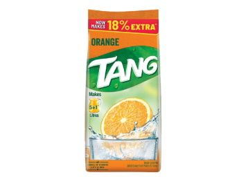 Tang Orange Instant Drink Mix, 500g Pouch (Pack of 2) At Rs. 143