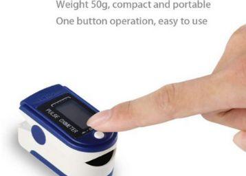 Diablos Pulse Oximeter Fingertip, Blood Oxygen Saturation Monitor Fingertip, Blood Oxygen Meter Finger Oximeter Finger with Pulse, oxometer for Oxygen Measurement