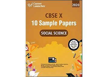 CBSE 2020 : Class X - 10 Sample papers - Social Science Paperback