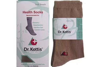 Dr. Kottis Unisex Health socks for Diabetic & Arthritis Care Bamboo cotton Yarn Ultra Soft Odour Free