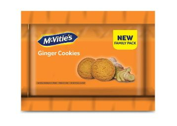 Flat 50% off McVities Ginger Cookies, 600 g At Rs. 100
