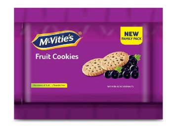 Flat 50% off McVities Fruit Cookies, 600 g At Rs. 137