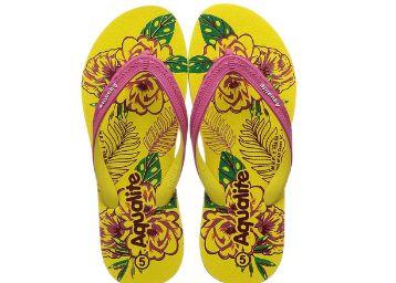 Aqualite Yellow Slippers