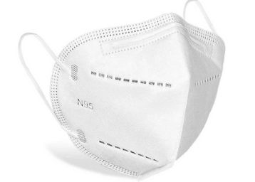 DALUCI Non-Woven 5 Layered Reusable Washable N95 Mask For Men and Women (Pack Of 10)