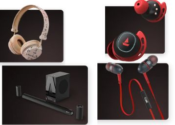 Boat Audio Devices From Just Rs.399 With Extra Bank Offer !!