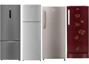 Flat Rs.750 FKM Cashback + Upto 46% Off + Bank Discount On Haier Refrigerators !!