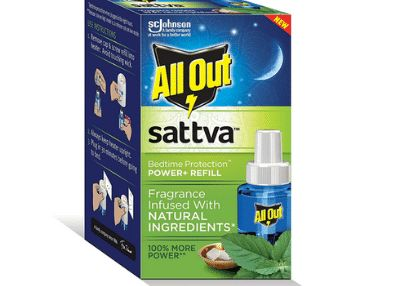 All Out Sattva (Single Refill), Pack of 1