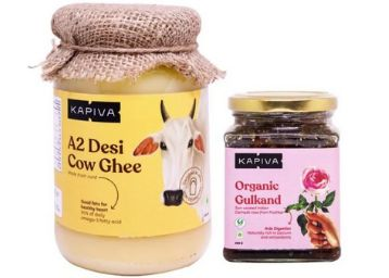 A2 Desi Ghee + Organic Gulkand At Rs. 425 Each [ Worth Rs. 2000 ] With Free Shipping!!