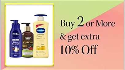Beauty Sale : Buy 2 Or More & Get Extra 10% Off [ Mama, Lakme and Lot More ]
