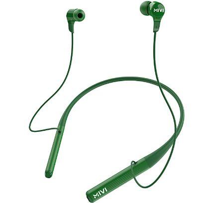 Mivi Collar 2B Wireless Earphones, Bluetooth Earphones with mic