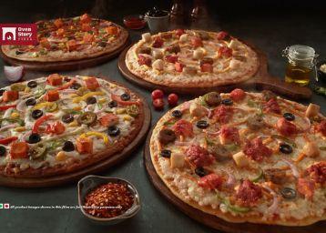 Order Pizza, Garlic Bread & Get 50% Off+ Rs.70 FKM Cashback