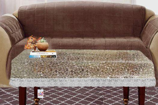 Fun Homes Transparent 3D Design PVC 4 Seater At Rs. 189