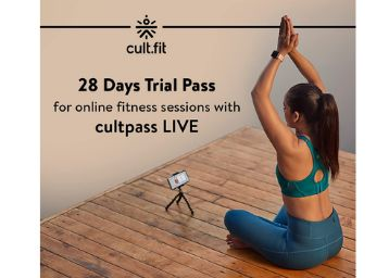 Cure.Fit 28 Days Pack For Online Fitness Sessions