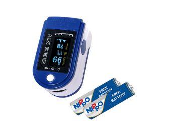 Prozo Plus Fingertip Pulse Oxy Oximeter (Royal Blue)