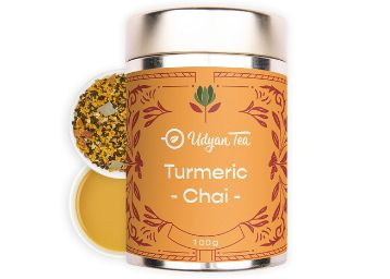 Udyan Tea Turmeric Chai Tea 100gm