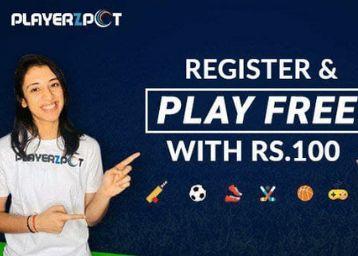 Make Team, & Play - Win Rs. 100 Bonus & Prizes Daily