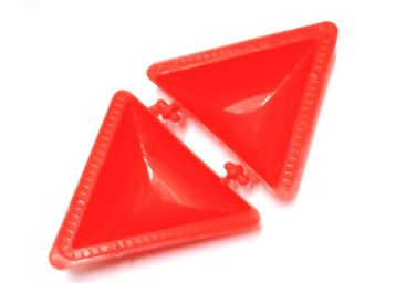 Global Local Mould Samosa Maker (Red), At Rs.19