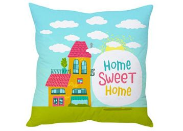 Polyester Blend Cute Cartoon Kids Cushion Cover, At Rs.199