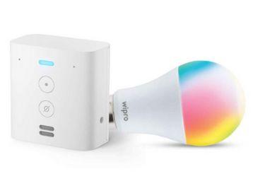 Echo Flex bundle with Wipro 12W LED smart color bulb, At Rs.3199