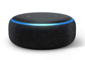 Echo Dot (3rd Gen) - <a href='https://m.freekaamaal.com/tag/1'>#1</a> smart speaker brand in India with Alexa (Black), At Rs.3499