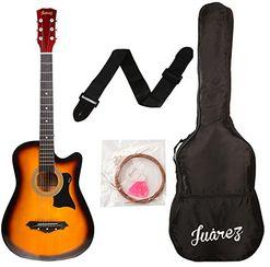 JUAREZ JRZ38C Right Handed Acoustic Guitar