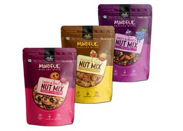 EAT Anytime Trail Mix Combo Pack of 3 Flavors