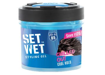 Set Wet Cool Hold Strength Hair Gel, 250 ml, Min 2 Qty, At Rs.96