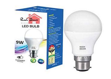 9W b22d LED White Bulb, Set of 1, Min 8 Qty, At Rs.55
