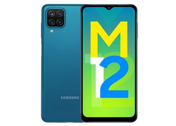 Samsung Galaxy M12 (Blue,4GB RAM, 64GB Storage), At Rs.9499