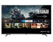 AmazonBasics 108cm (43 inch) 4K Ultra HD Smart LED Fire TV