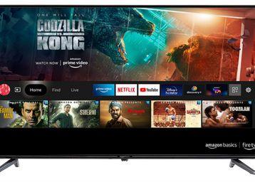 AmazonBasics 80cm (32 inch) HD Ready Smart LED Fire TV, At Rs.13499
